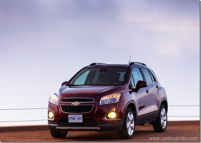 Chevrolet Trax Compact SUV (8)