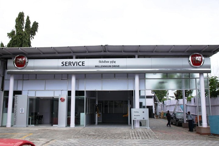 Fiat service center in Pune