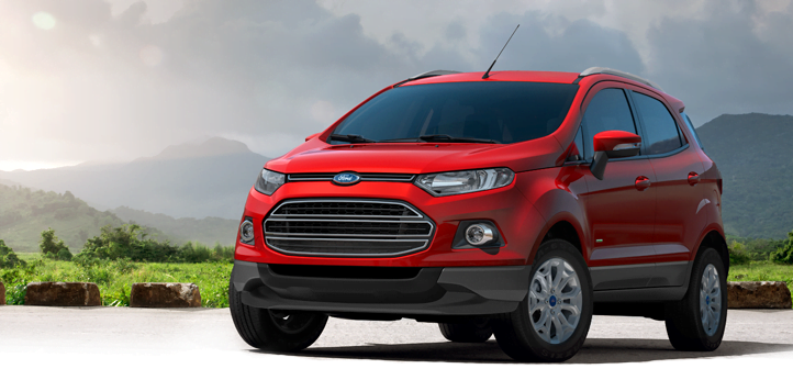 Ford EcoSport India Front