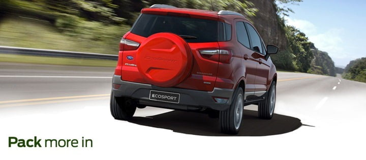 Ford EcoSport India Rear