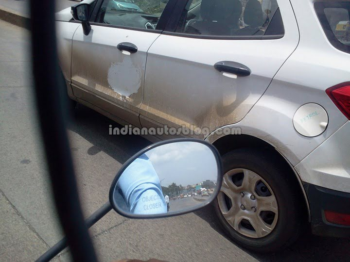 Ford Ecosport Caught Testing In Pune
