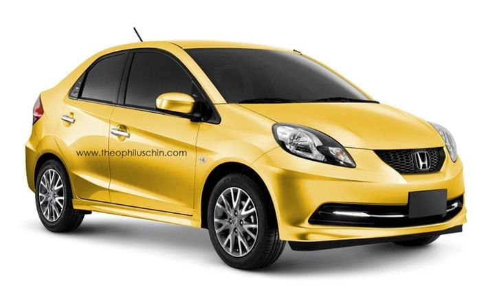 Honda Brio Diesel Sedan Officially Confirmed For India In FY2013-14