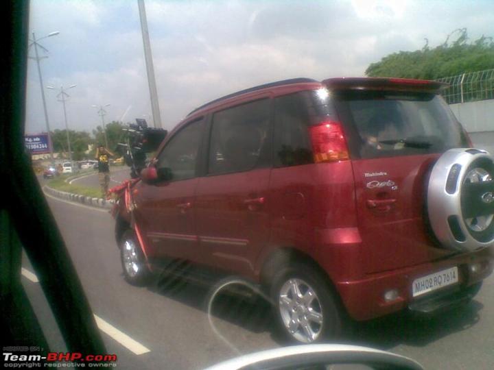Mahindra Qianto Compact SUV India (1)