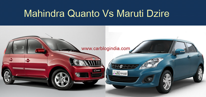 Mahindra Quanto Vs Maruti Swift Dzire