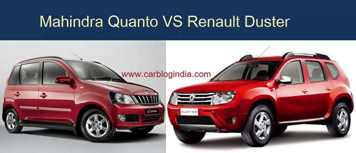 Mahindra Quanto Vs Renault Duster