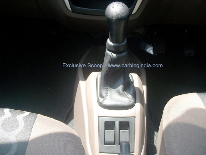 2012 Maruti Alto 800 Interior Pictures And Features Spied Details