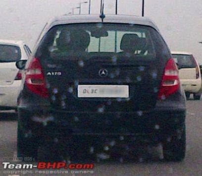 Mercedes A Class India