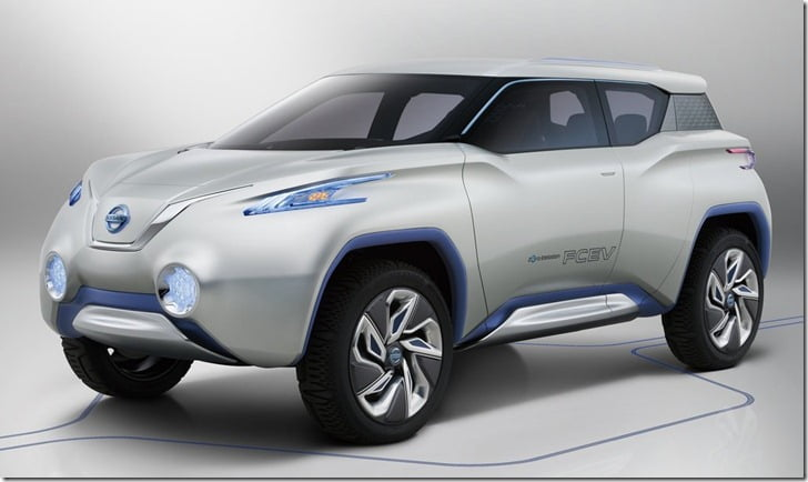 Nissan Terra Concept Side View front