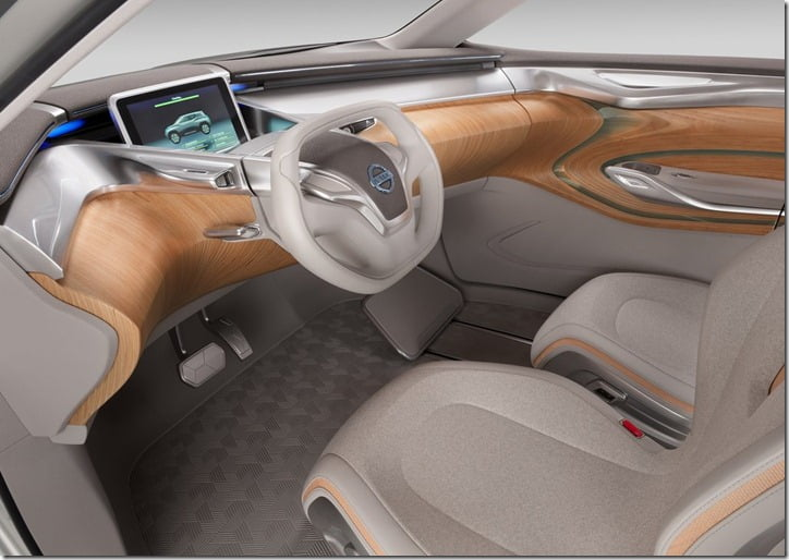 Nissan Terra Concept Side View interior