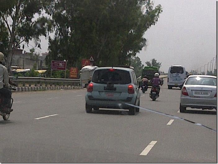 Renault Modus Spied In Delhi 2