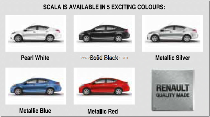 Scal colour Options