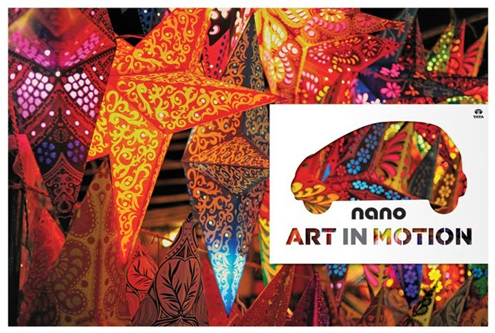 Tata Nano Art In Motion