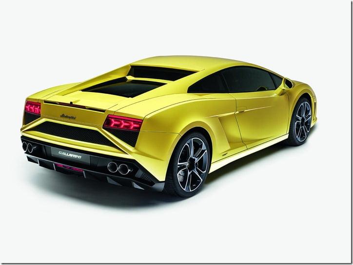 2012 Lamborghini Gallardo Facelift