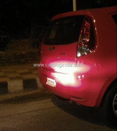 Chevrolet Sail Sedan And Sail U-VA Hatchback Spied Testing In India– Exclusive Pictures