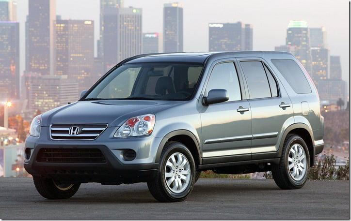 Honda CR-V Recalled