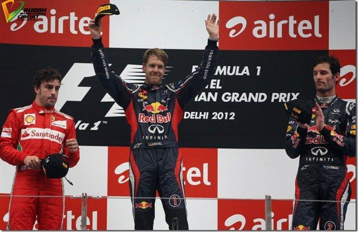 2012 Indian Formula One Winners