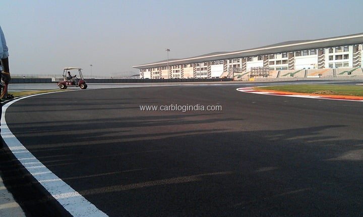 2012 Indian Grand Prix Preparations At Buddh International Circuit In Noida