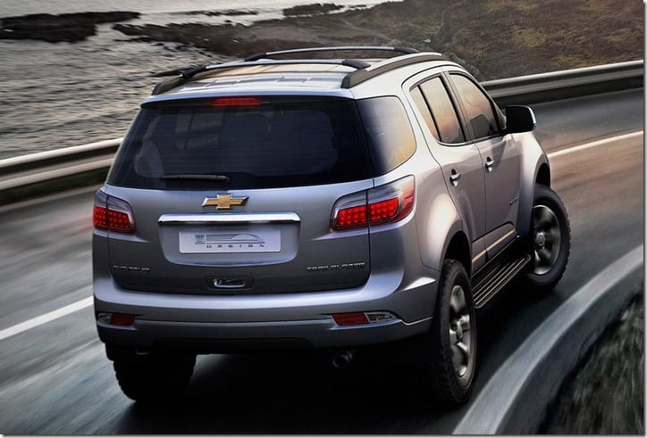 2013 Chevrolet Trailblazer rear