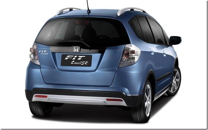 2013 Honda Fit Twist - Jazz Based Crossover 2