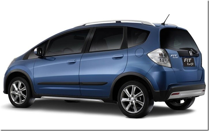 2013 Honda Fit Twist - Jazz Based Crossover rear