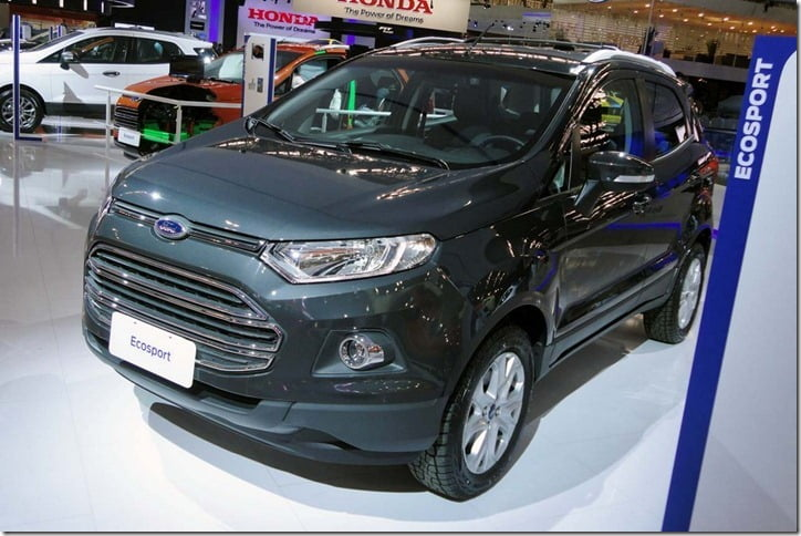 Ford EcoSport Automatic 4WD In Brazil
