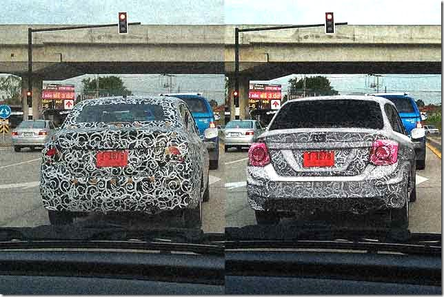 Honda Brio Sedan Caught Testing In Thailand