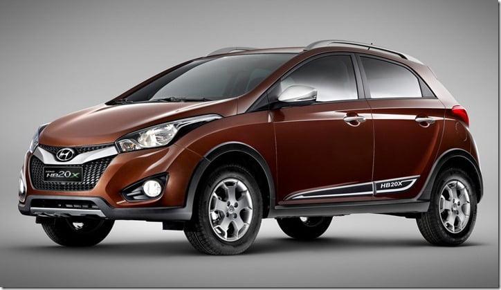 Hyundai HB20X hatchback