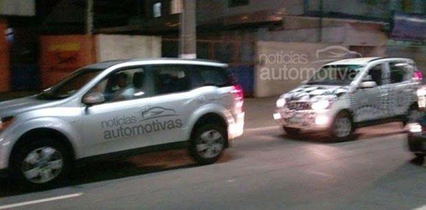 Mahindra Quanto Brazil Spy Shot