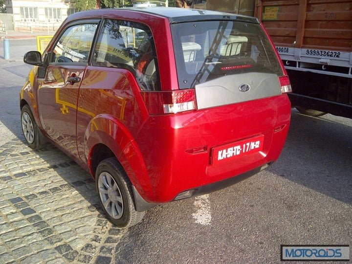Mahindra Reva E2O Electric Car India (1)