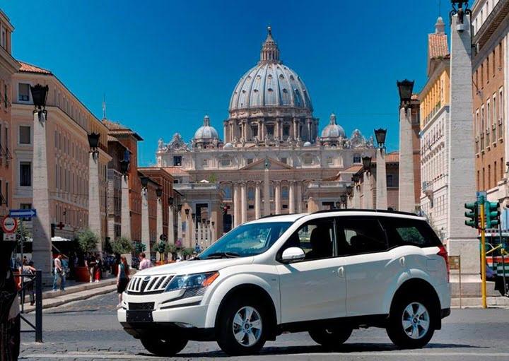 Mahindra XUV500 SUV In Italy