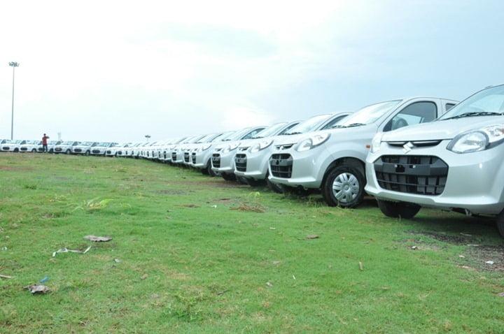 Maruti Suzuki Delivers 200 Alto Cars In Single Day In