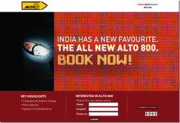 Maruti Alto 800 Bookings Start–Official Website Goes Live