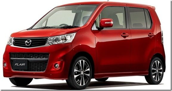 Mazda Flair is Suzuki Wagon-R 2