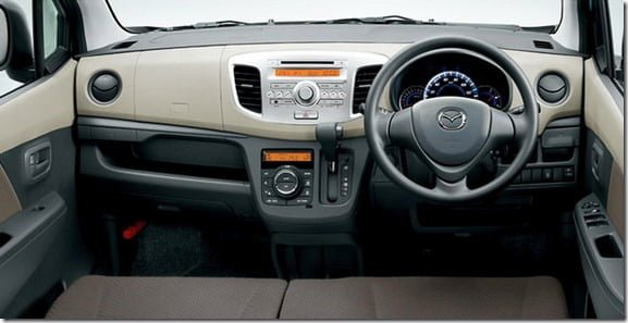 2013 suzuki wagon r with mazda badge for japan. Black Bedroom Furniture Sets. Home Design Ideas