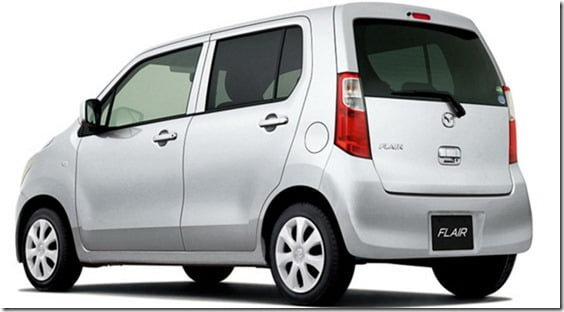 Mazda Flair is Suzuki Wagon-R rear