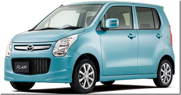 Mazda Flair is Suzuki Wagon-R