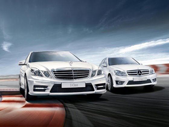 Mercedes c and e class sport edition launched with amg package for Mercedes benz c class vs e class