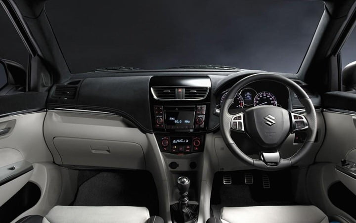 2012 Suzuki Swift Sport Interiors