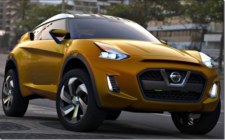 Nissan Extrem Concept Crossover Brazil front