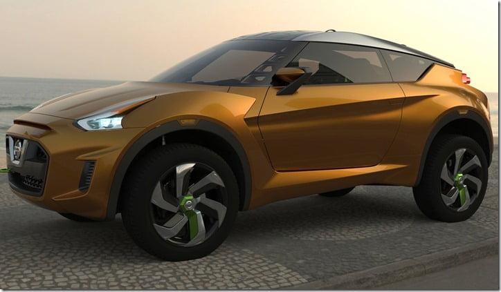 Nissan Extrem Concept Crossover Brazil side 1