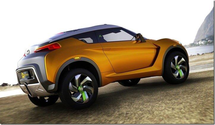 Nissan Extrem Concept Crossover Brazil side