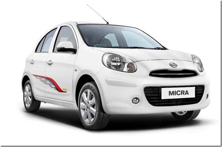 nissan micra primo special edition features and festival offers. Black Bedroom Furniture Sets. Home Design Ideas