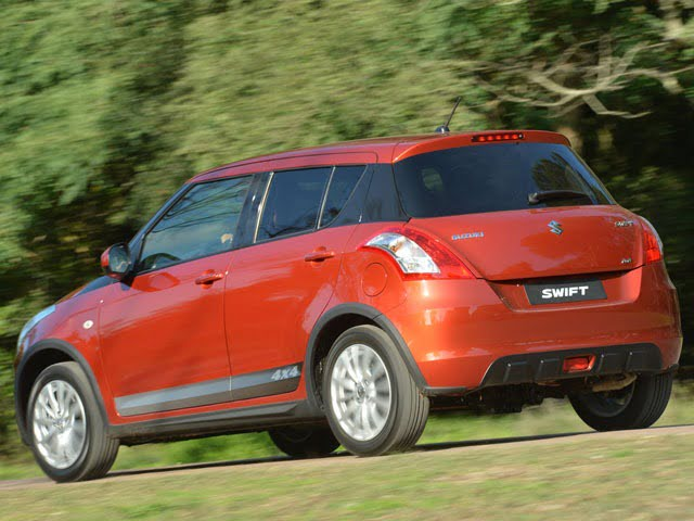 Suzuki Swift 4x4 Outdoor Edition 1