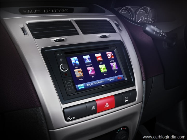 Touchscreen Multimedia Navigation