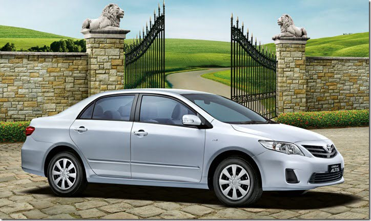 Toyota Corolla Altis Special Edition exterior features