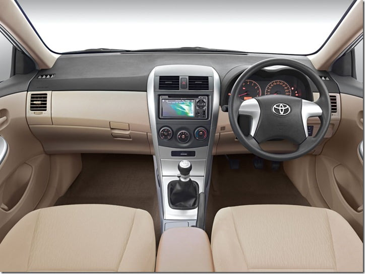 Toyota Corolla Altis Special Edition interior features
