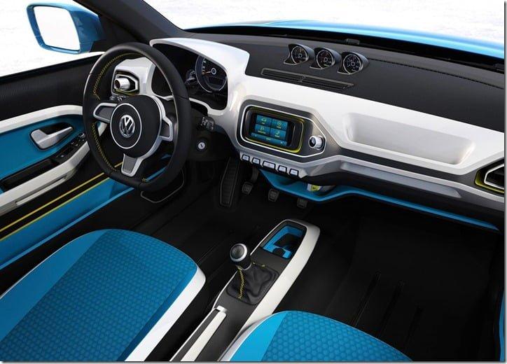 Volkswagen Taigun Concept SUV Interiors