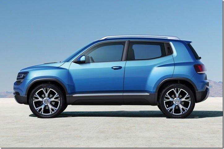 Volkswagen Taigun Concept SUV side
