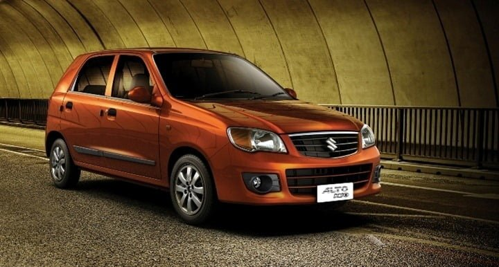 Best Used Cars in India - Maruti Alto K10