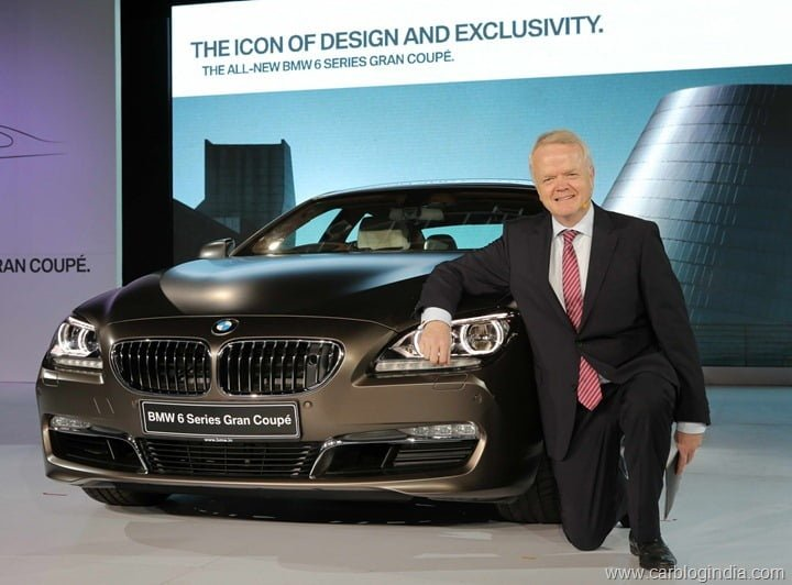 2013 BMW 6 Series Gran Coupe Launched In India